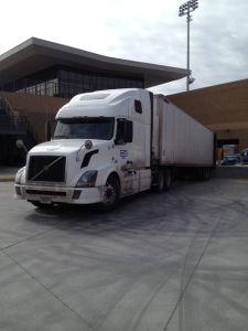 The truck has arrived!