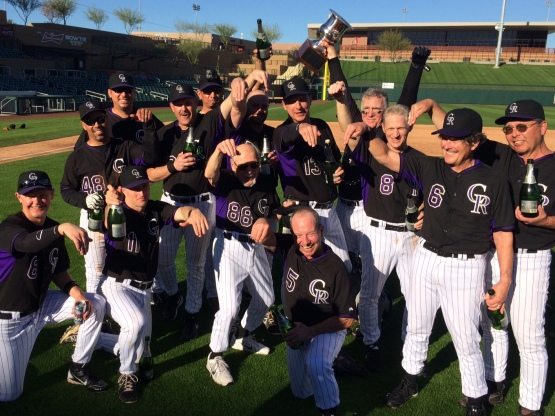 Your 2015 Fantasy Camp Champions, The Scorpions.